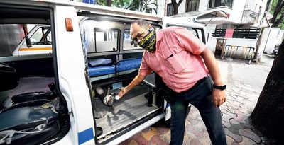 Low oxygen supplies now hit the city's ambulances