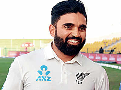 Ajaz Patel says he loves the fast pace of Mumbai, street food & battle with Aussies