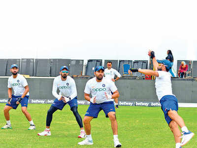 Rohit checks in, Rahul exits