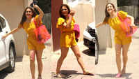 Sara Ali Khan looks as fresh as a daisy in this yellow jumpsuit