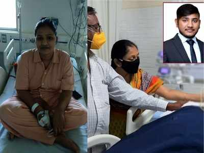 24-year-old Surat man's heart will beat in 34-year old mother's body in Ahmedabad
