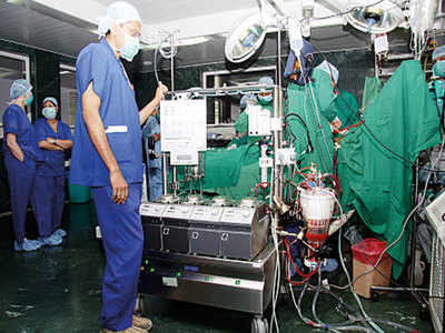 33-yr-old techie suffers cardiac attack, treated by new method