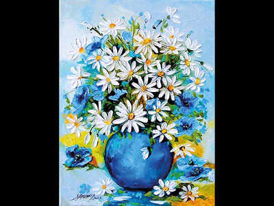 PLAN AHEAD : Learn Impasto painting