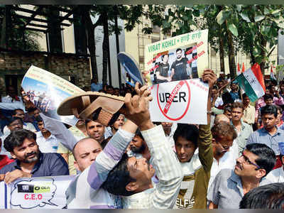 Fewer cabs, higher fares as Uber, Ola drivers strike