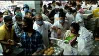 Hyderabad: Heavy rush, no social distancing as Tirupati Shrine board distributes ladoos