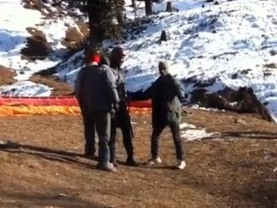 Watch: Ankita Lokhande shares throwback video of Sushant Singh Rajput paragliding