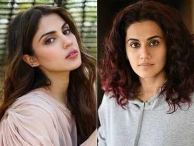 Taapsee Pannu backs Rhea Chakraborty: Every woman who is with relatively more successful man isn't a gold digger