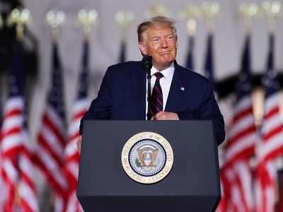 Donald Trump assails rival Joe Biden, accepting the Republican nomination for second White House term