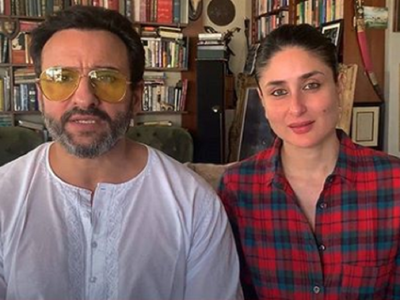 Kareena and Saif shoot for an ad from home; take all precautionary measures amid COVID-19 pandemic