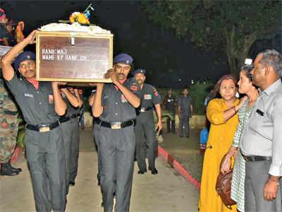 Major Kaustubh Rane's body reaches Mumbai, funeral today