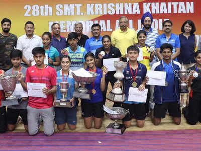 Meiraba triumphs; double delight for Tanisha and Aditi at All-India Junior Ranking Badminton Tournament