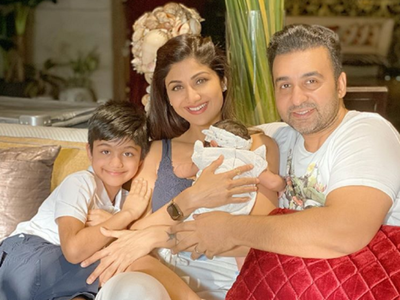 Shilpa Shetty pens heartfelt note as daughter Samisha turns 40 days old