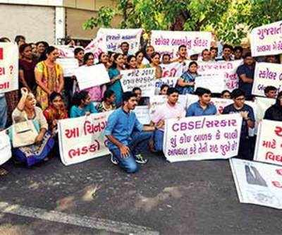 Parents of students who appeared for NEET in Gujarati say, 'We want separate merit list'
