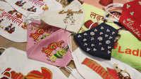 'Ladke Wale' and 'Ladki Wale' masks popular in Surat as wedding season approaches
