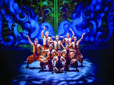 A new show will depict the dramatic game of dice of the Mahabharata through a mix of Balinese dance and Bharatanatyam