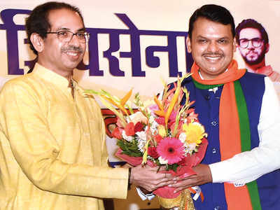BJP-SENA faced with rebellion in 30 seats