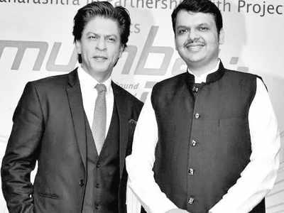 Shah Rukh Khan: Chief Minister Devendra Fadnavis is my 3 am friend