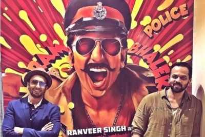 Simmba success party: Ranveer Singh pops out of car's sunroof to dance