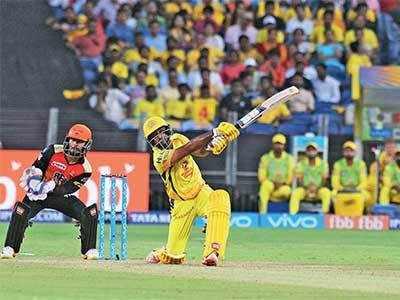 IPL 2018, CSK VS SRH: AMBATI RAYUDU REPAYS MS DHONI'S FAITH AS CHENNAI SUPER KINGS BEAT SUNRISERS HYDERABAD BY EIGHT WICKETS