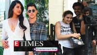 Priyanka Chopra joins hubby Nick Jonas at Jonas Brothers' concert; Sara Ali Khan gets papped outside Kartik Aaryan's residence, and more..