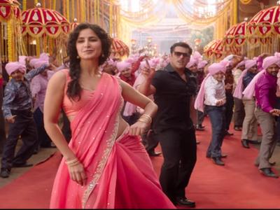 Bharat: Salman Khan, Katrina Kaif revive the wedding vibe with Aithey Aa