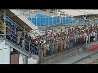 Mumbai: Commuters witness stampede-like situation after railways barricaded level crossing gate at Jogeshwari