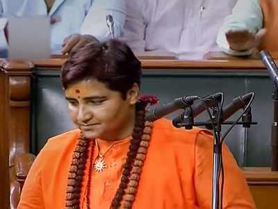 Uproar in Lok Sabha as Pragya Singh Thakur creates row with her name while taking oath