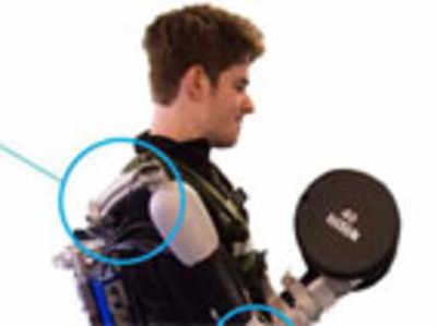 Bionic arm gives herculean power