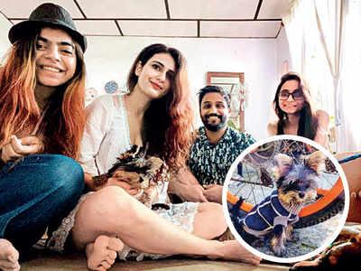 Finally, a 'summer' vacation for Alaya F, Fatima Sana Shaikh, Karan Johar