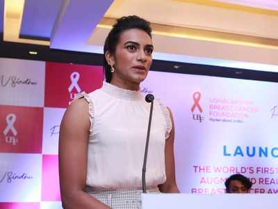 PV Sindhu to raise awareness on breast cancer using Augmented Reality technology