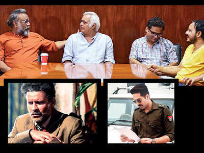 Filmmakers Anubhav Sinha, Hansal Mehta and writers Mayank Tiwari, Gaurav Solanki speak on adapting from real-life stories, negotiating trolls, the CBFC and the repercussions of having a political opinion