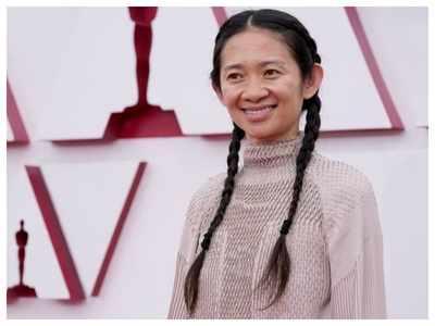 Chloe Zhao makes Oscar history, winning best director