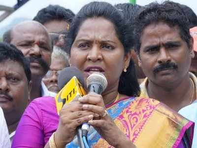 Andhra Pradesh: Dalit woman MLA alleges insult inside Ganesh Pandal, four booked