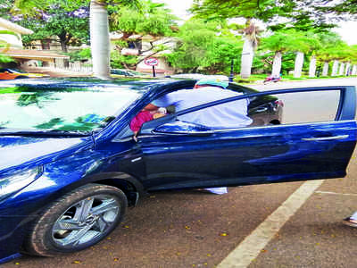 Whitefield society conducts 'drive-in' vax drive