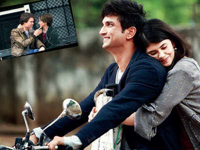 It's all in the stars now for Sushant Singh Rajput and Sanjana Sanghi