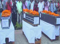 Bodies of CRPF soldiers martryed in Sukma reach their hometown