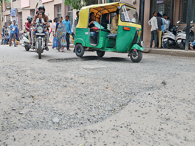 Roads in Victoria Hospital's premises need treatment