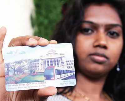 Metro on a smartcard roll