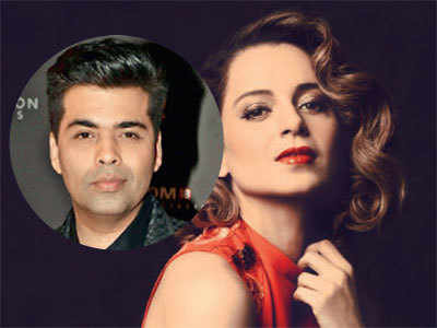 Famous B-town spat ends: Kangana Ranaut set for coffee with Karan Johar on new show