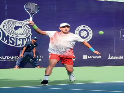KPIT MSLTA Challenger: Indian men's campaign ends in quarter-finals