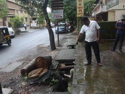 36-year-old lawyer falls into open manhole in Panvel