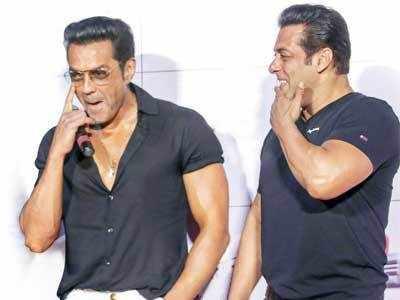 Race 3 actor Salman Khan plays mentor to long-time pal Bobby Deol
