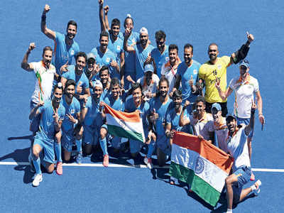 Tokyo Olympics 2021: India joyous after hockey team ends 41-yr medal drought
