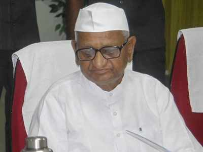 Anna Hazare complains of cough and weakness, hospitalised