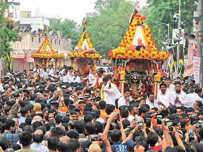Nationalism rules at 142nd rathyatra