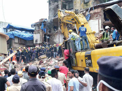 Mumbai Building Collapse: Close shave for 20 students of nursery school