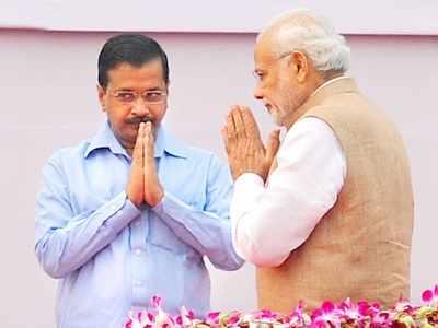 Kejriwal invites PM Modi for his swearing-in ceremony on Sunday