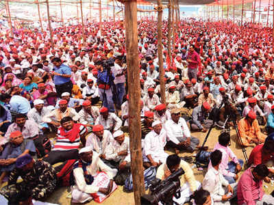 After peaceful march to Mumbai, Farmers' unions ready for state-wide hunger strike and jail bharo andolan
