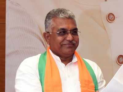Mamata Banerjee is imposing lockdowns to prevent BJP from organising rallies, says Dilip Ghosh
