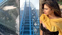 Mouni Roy lashes out at Mumbai Metro authorities after a rock damages her car